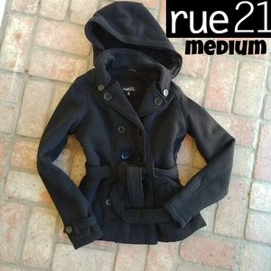 Rue 21 Fur Lined Jacket (worn once for hours)